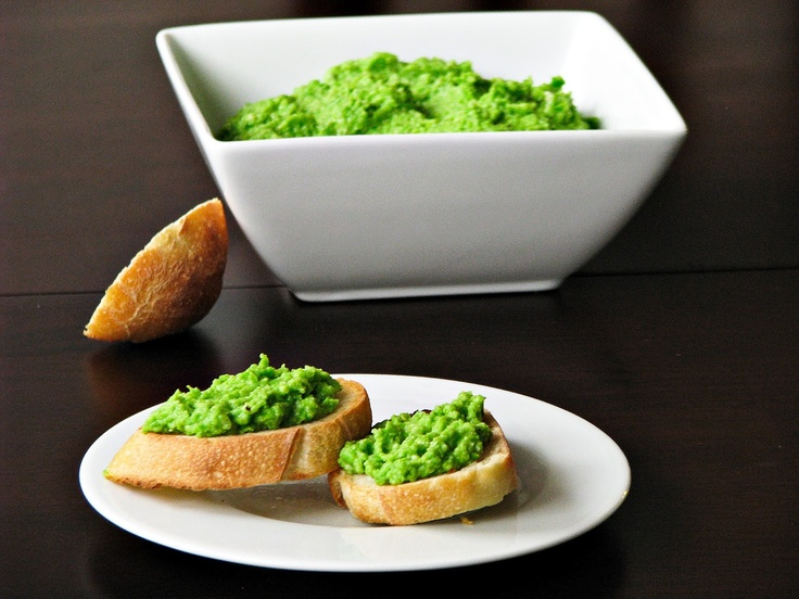 Green peas and Parmesan spread | dips and spreads | Pinterest