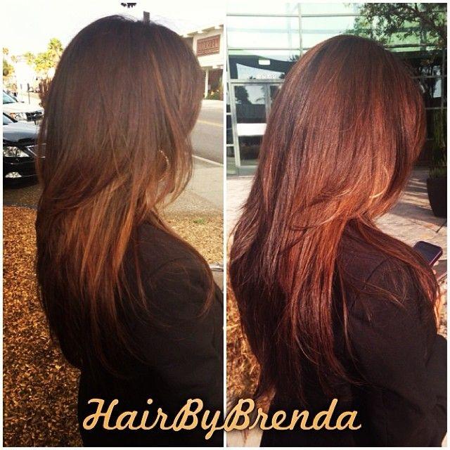 Pin Finola Hughes Hair Color Is A Dark Brown With Caramel Highlights ...