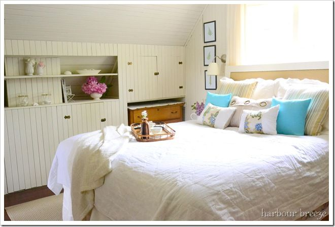 2012 06 Beach Themed Bedroom Bedrooms Blue Green Lavender