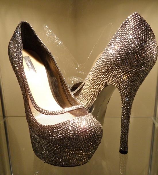 DIY rhinestone heels | Shoes | Pinterest