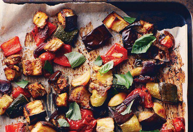 Basil Ratatouille | Happy Food | Pinterest