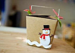 christmas gift container