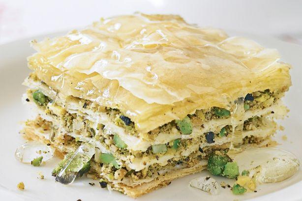 Pistachio & almond baklava | Comida :) | Pinterest