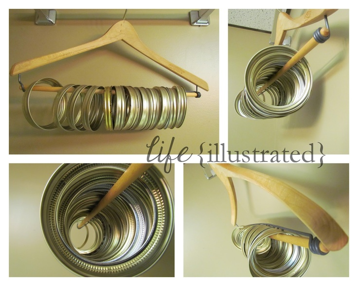 Canning Ring Storage Solution