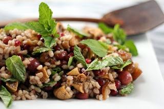 Barley Fruit Salad for Tu B'Shevat | Tu B'shevat - February 3, 2015 ...