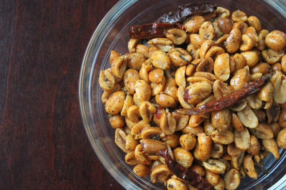 Chile-Lime Peanuts (Trader Joe's knock-off recipe)