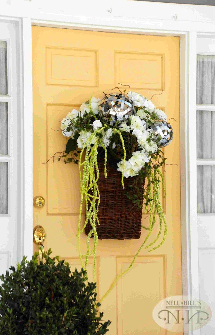 Summer front door wreath front door pinterest