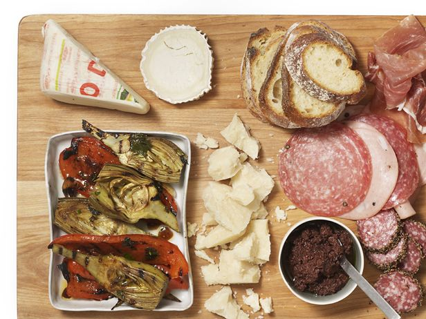 Food Network invites you to try this Antipasto Platter With Grilled ...