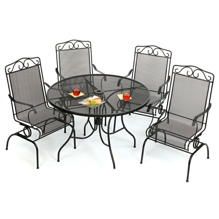 Wrought Iron Patio Furniture Old Time Pottery Pinterest