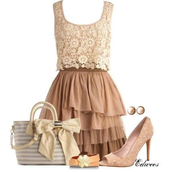 Would you wear this gorgeous look?