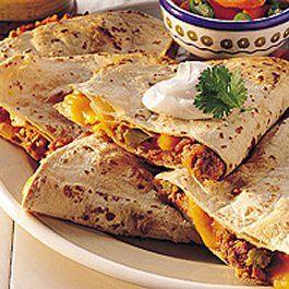 Corned Beef Reuben Quesadillas | Great food | Pinterest