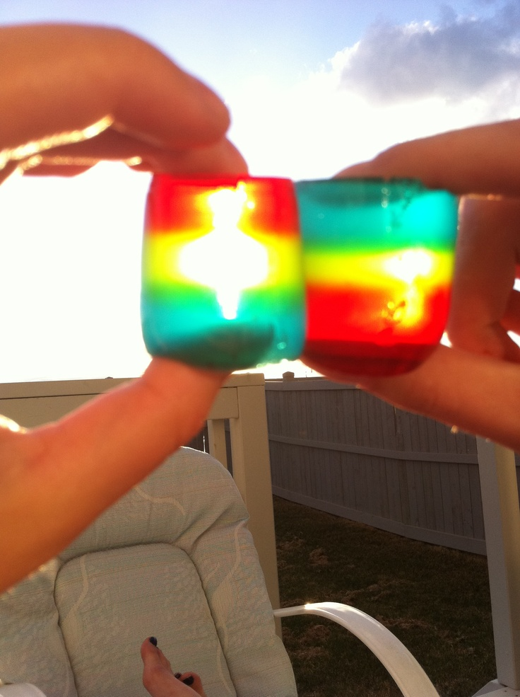 Multilayer+Jello+Shots Layered Jello Shooters http://www.pinterest.com ...