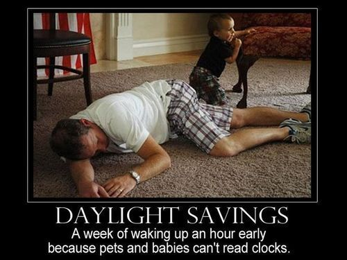 What daylight savings does to parents