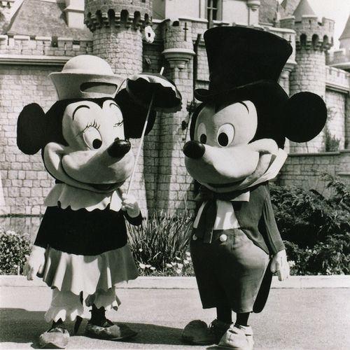 mickey & minnie 1961 | I Dream of Disney | Pinterest