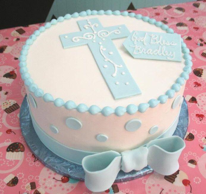 Тортики на крещение своими руками