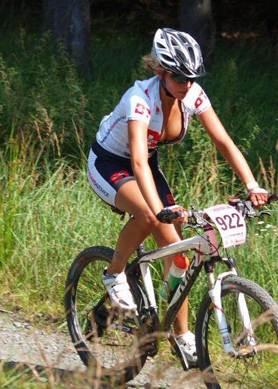 Nude Babes On Mountain Bike