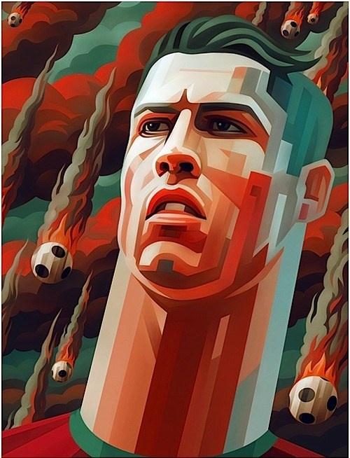 Cristiano Ronaldo | Art... Caricatures | Pinterest
