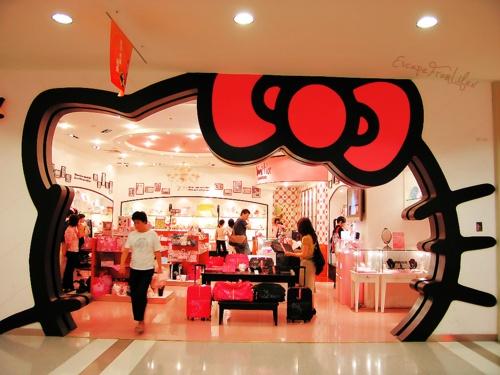 hello kitty store tokyo japan geek pinterest. Black Bedroom Furniture Sets. Home Design Ideas