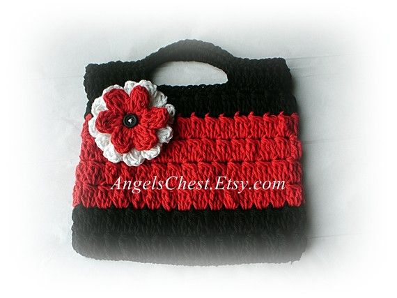 Hand Purse Patterns : PDF PATTERN Cute Hand Crochet OWL Purse Handbag Boutique Design - No ...