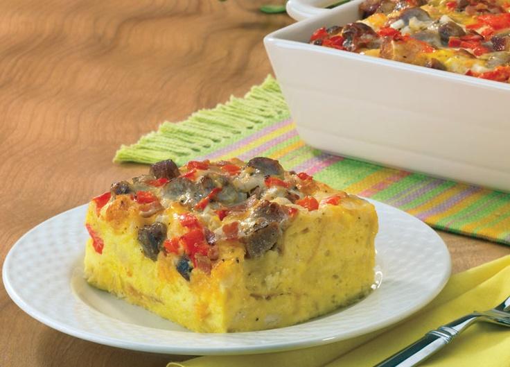 Cheesy Sausage Breakfast Casserole Recipe — Dishmaps