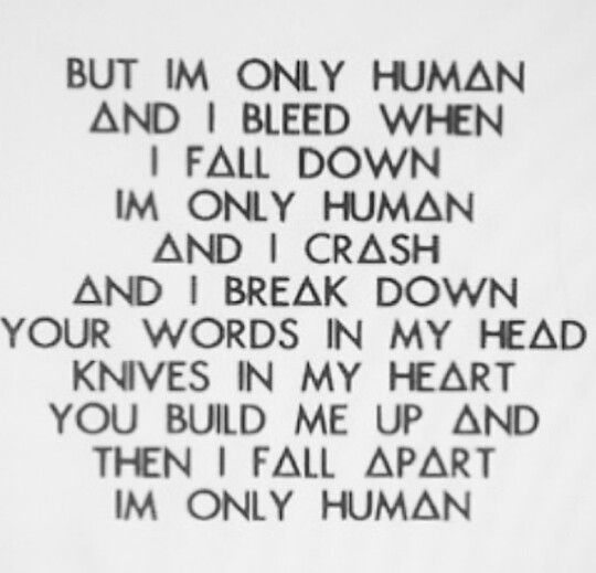 Im Only Human Christina Perri Quotes From Quotesgram