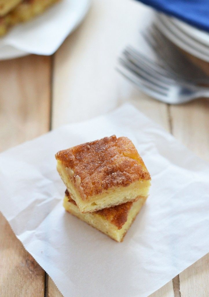 cinnamon gooey butter cake | Let Them Eat Cake | Pinterest