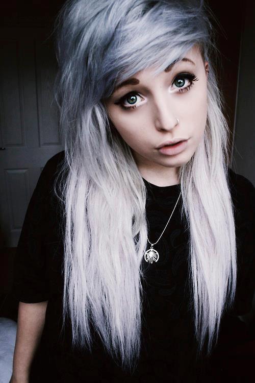 gray hair | Tum...