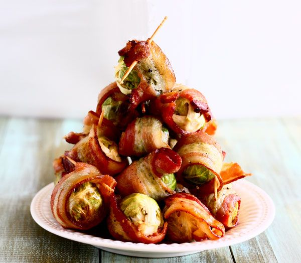 bacon blanketed brussels sprouts - The Talking Kitchen - The Talking ...
