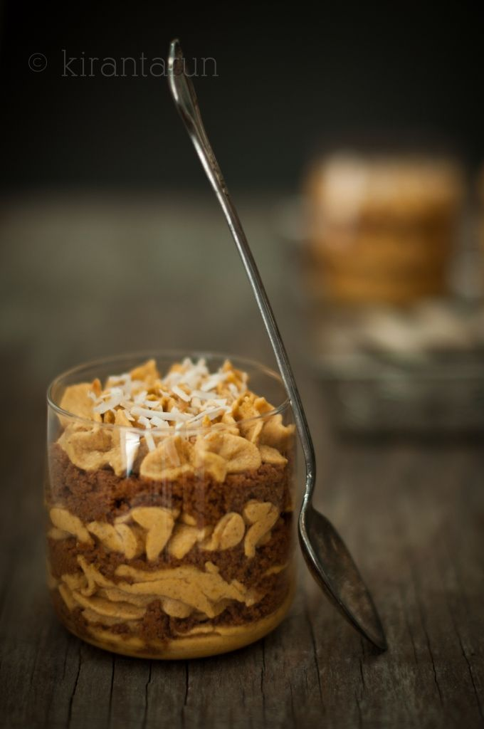 pumpkin coconut cream trifle..... every recipe looks good in this ...