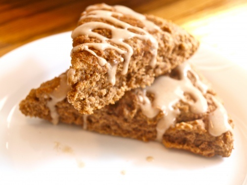 Cinnamon Roll Scones...easy and great with coffee...