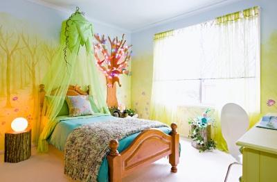 enchanted forest bedroom kids room pinterest