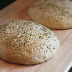 Super easy rosemary peasant style bread. A copycat of one of my ...