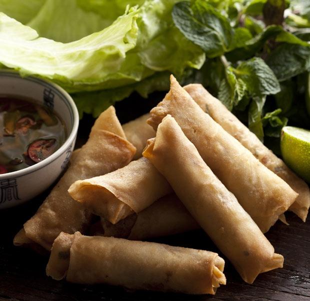 Vietnamese cha gio (spring rolls) | What's For Dinner? | Pinterest