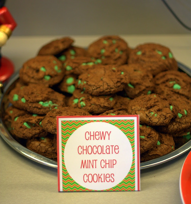 ... 12 Days of Christmas Fun: Thick & Chewy Chocolate Peppermint Cookies