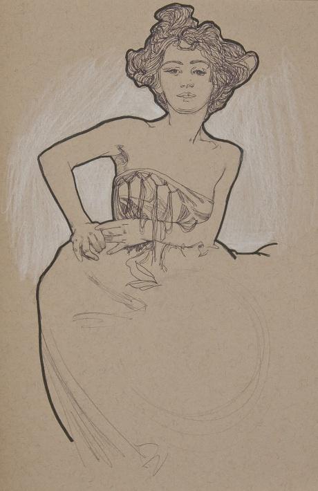 Alphonse Mucha | Sketches. | Love Alfons Mucha! | Pinterest
