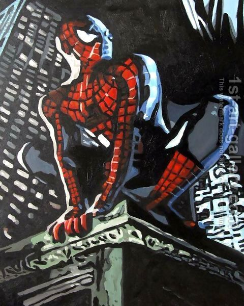 Spiderman pop art - photo#27