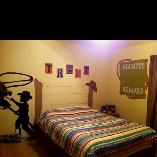 cowboy bedroom kid stuff pinterest