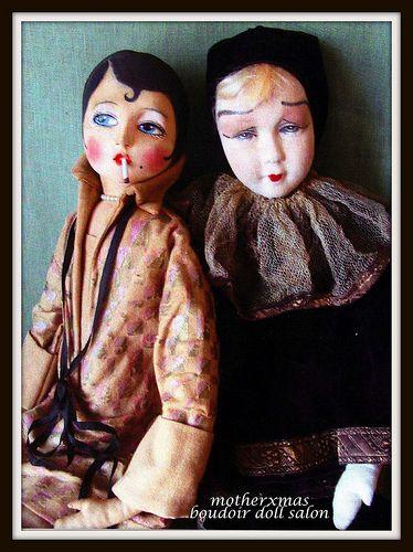boudoir doll etta french pierrot