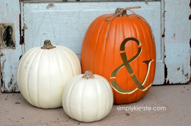 How to carve a foam pumpkin