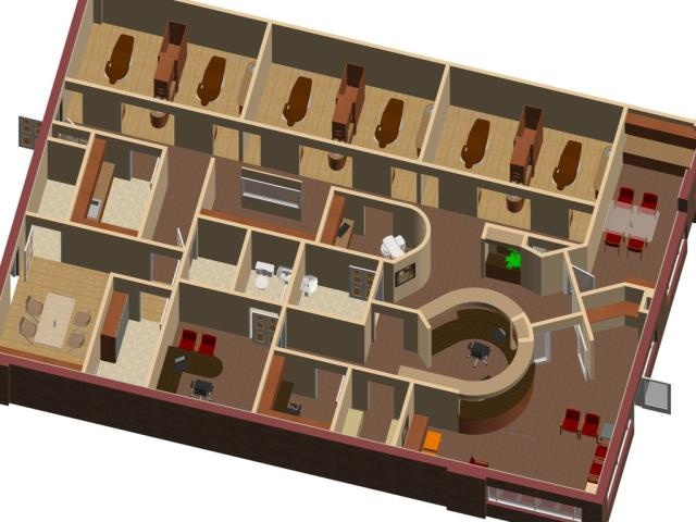 3d dental office plans maps floor plans modern for Office layout design 3d