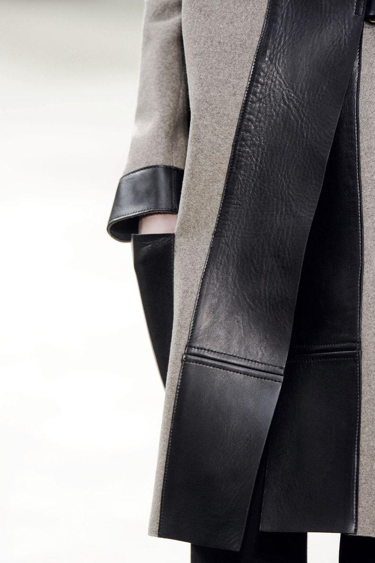 Кожаное пальто своими руками фото