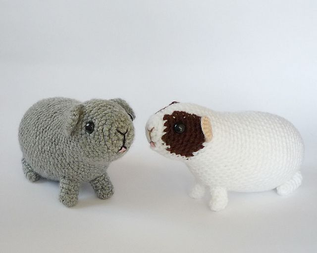 Knitting Pattern For A Guinea Pig : Hungry guinea pig pattern by Kati Galusz