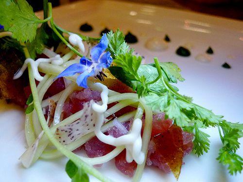 ... tartar tuna tartare tuna hors d oeuvres tuna tartare with thai curry