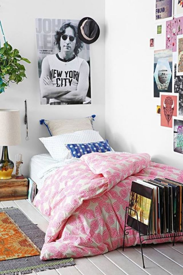 Pin by meghan griffin on home sweet home pinterest for Bedroom ideas urban outfitters