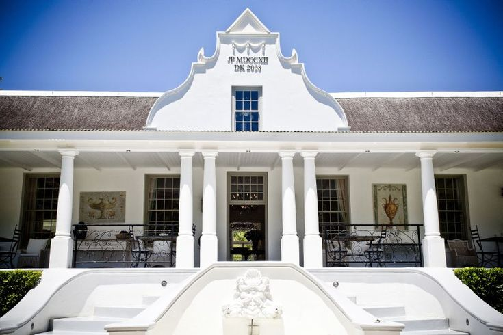 Grand D Dale Wellington Cape Dutch Architecture