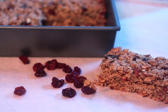 ... from the Cody Kitchen: Thick and Chewy Cherry Almond Granola Bars