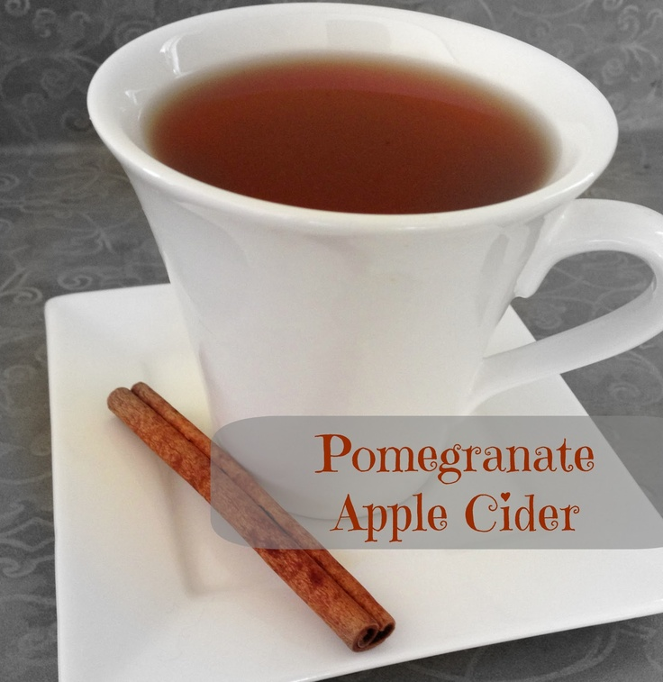 It's Our Pinteresting Life: Pomegranate Apple Cider