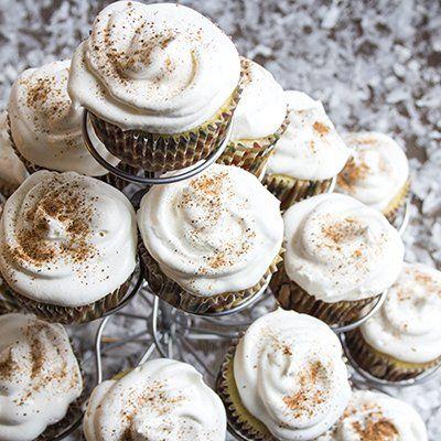 Skinny Eggnog Cupcakes | Skinny Mom | Where Moms Get the Skinny on ...