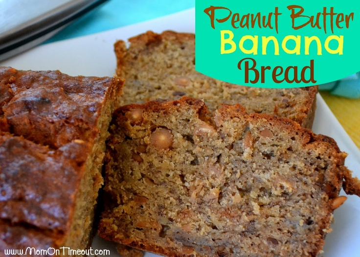 Peanut Butter Banana Bread {#Recipe} #bread #delicious #breakfast www ...