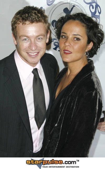 Simon Baker and Wife... | Hot Hot Men | Pinterest